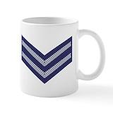 Corporal mug air force Small Mugs (11 oz)