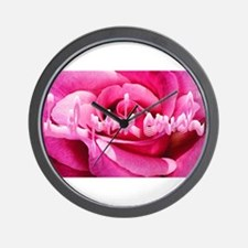 Lil Pink Crush Pink Rose2.jpg Wall Clock