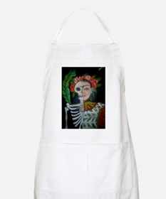 Day of the Dead Frida Apron