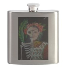 Day of the Dead Frida Flask