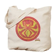 Iron Spider Icon Vintage Tote Bag