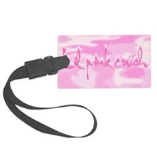 2-Lil Pink Crush Camouflage.jpg Luggage Tag