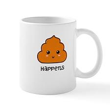 Poop happens Mugs