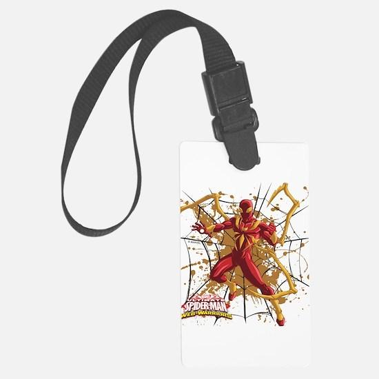 Iron Spider Web Luggage Tag