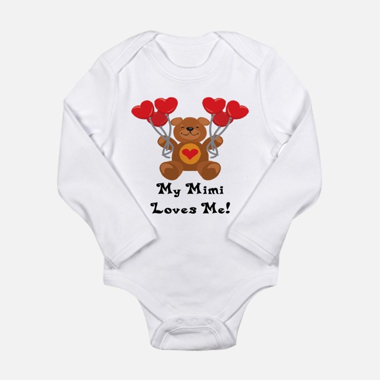 Cute Kids valentines Long Sleeve Infant Bodysuit