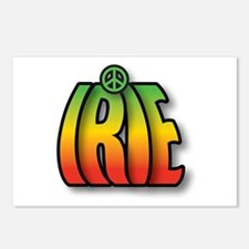 IRIE PEACE Postcards (Package of 8)