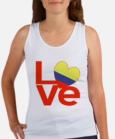 Red Colombia LOVE Tank Top