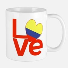 Red Colombia LOVE Mugs
