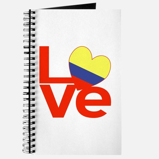 Red Colombia LOVE Journal