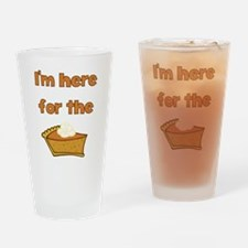 Pie Drinking Glass