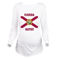 Florida Native Long Sleeve Maternity T-Shirt