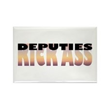 Deputies Kick Ass Rectangle Magnet (100 pack)
