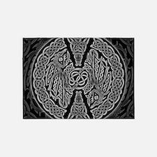 Celtic Dragons 5'x7'Area Rug