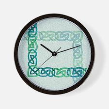 Celtic Watercolor Wall Clock