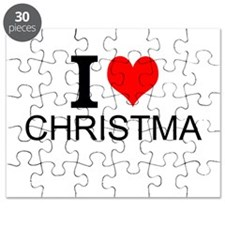 I Love Christmas Puzzle