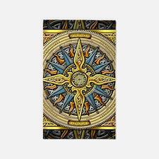 Celtic Compass 3'x5' Area Rug