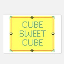 Cube Sweet Cube Postcards (Package of 8)