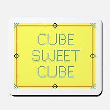 Cube Sweet Cube Mousepad