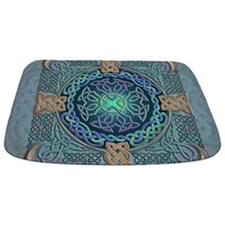 Celtic Eye of the World Bathmat