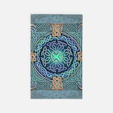Celtic Eye of the World 3'x5' Area Rug