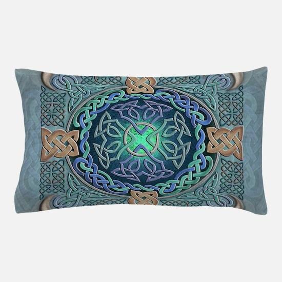 Celtic Eye of the World Pillow Case