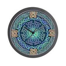 Celtic Eye of the World Wall Clock