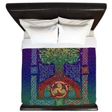 Celtic Tree of Life King Duvet