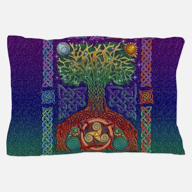 Celtic Tree of Life Pillow Case