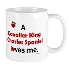 A Cavalier Loves Me Mug