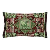 Celtic dragon Pillow Cases