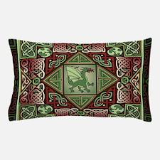 Celtic Dragon Labyrinth Pillow Case