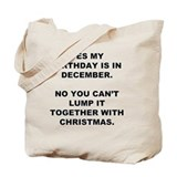 Seasonal and holiday Canvas Totes