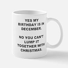 Christmas Birthday Small Small Mug