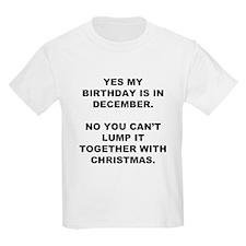 Christmas Birthday T-Shirt