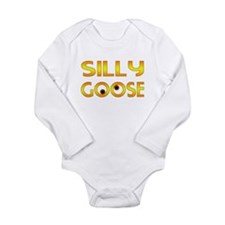 Cute Silly geese Long Sleeve Infant Bodysuit