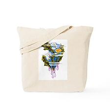 Dandelion plant Tote Bag