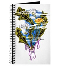 Cute Bees and dandelion Journal