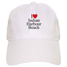 """I Love Indian Harbour Beach"" Baseball Cap"