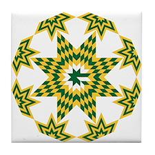 Destination Packers Tile Coaster