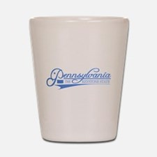 Pennsylvania State of Mine Shot Glass