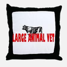 LARGE ANIMAL VET Throw Pillow