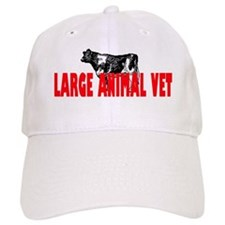 LARGE ANIMAL VET Baseball Cap