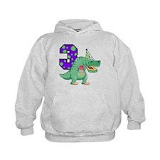 T-Rex 3rd Birthday Hoodie
