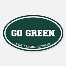 Go GREEN Decal