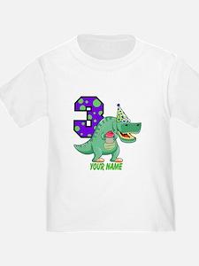 T-Rex 3rd Birthday Custom T
