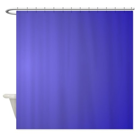 Lotus Blue Glow Shower Curtain