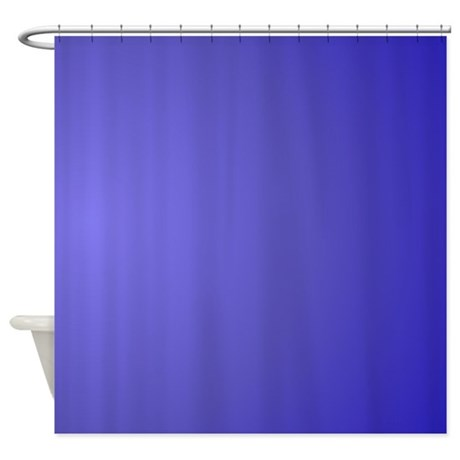 Lotus Blue Glow Shower Curtain