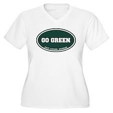 Go GREEN Plus Size T-Shirt
