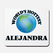 World's Hottest Alejandra Mousepad