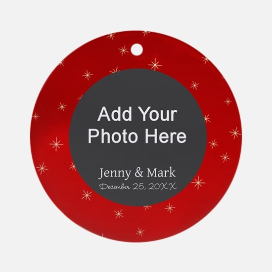 1st Christmas Together Ornament (Round)